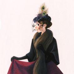Genevieve Godbout illustration #annakarenina