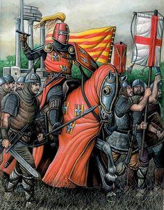 1303-1305 Roger de Flor and the almogavers of the Great Catalan Company al servicio del emperador de bizáncio Andrómico II