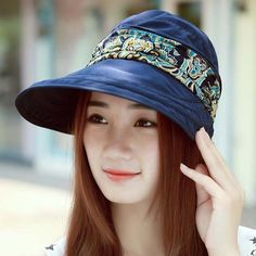 2d9de75324a90 Women s Summer Beach Sun Visor Hat