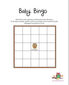 Free Printable owl themed baby shower GAMES #babyshowergamesfree