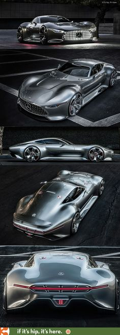 If It's Hip, It's Here: Mercedes-Benz Designs A Wicked Car Inspired By A Video Racing Game: The AMG Vision Gran Turismo..