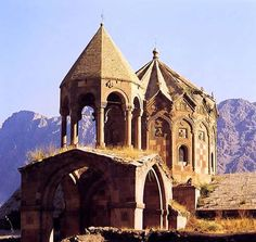St. Stephanos medieval armenian monastery in northern Iran