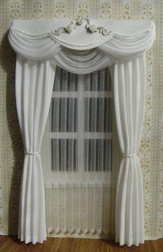 Miniatur 01:12 Dollhouse Vorhänge bestellen von TanyaShevtsova