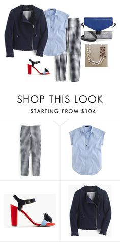 """Untitled #289"" by llsdenver ❤ liked on Polyvore featuring J.Crew, Loeffler Randall, men's fashion and menswear"