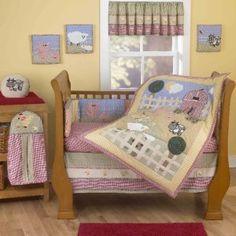 Hampshire Valley Farm Animal Crib Bedding And Accessories