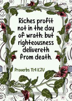 Proverbs 11:4 KJV