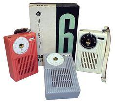 Vintage Packaging: Transistor Radios, PartII - TheDieline.com - Package Design Blog