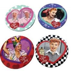 I Love Lucy Coasters in a Tin Box | LucyStore.com