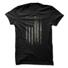 Green Line Flag