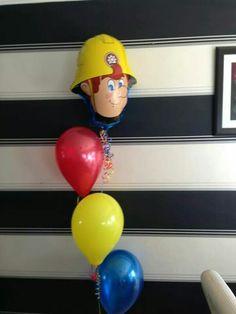 #fireman sam #theme #balloons #bellissimoballoons