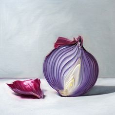 Purple Onion by Lauren Pretorius