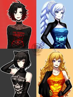 Browse the best of our 'RWBY' image gallery and vote for your favorite! Fanart Rwby, Rwby Anime, Chica Anime Manga, Kawaii Anime, Rwby Characters, Female Characters, Girls Anime, Anime Art Girl, Manga Girl