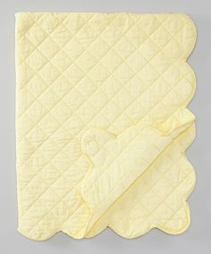 36'' x 48'' Yellow Cambric Quilt
