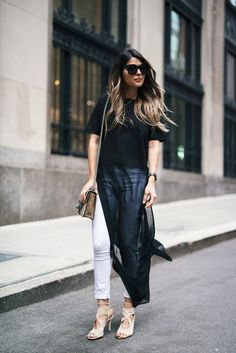 Long Flowy Blouse | The Girl From Panama