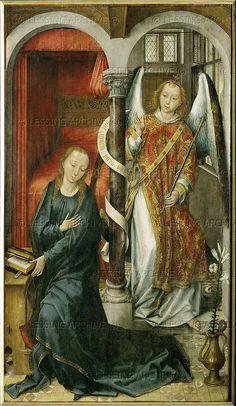 Vrancke van der Stockt.Annunciation