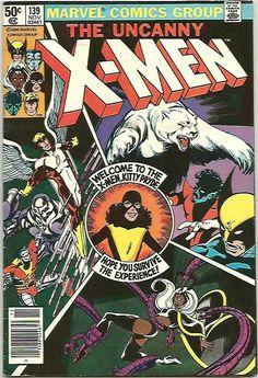 X-men John Byrne 1980 Marvel Comics series & print Claremont Uncanny Kitty Pryde, Marvel Comics, X Men Funny, Hulk 181, Bronze Age Civilization, Comics For Sale, Comic Book Collection, The Uncanny, Wolverine