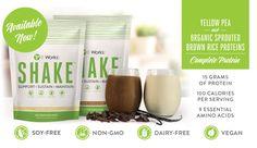 These shakes are so yummy!! The vanilla tastes like cupcakes! Soy-free Non-gmo  Dairy-free Vegan  AMAZING!!