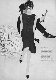 Anne St Marie, May Vogue 1958. Wow.