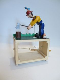 wood chopper automata