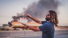 Can it get any more cinematic than this scene of a random dude holding a clapperboard? Congratulations VICE you played yourself. Bizarre Stories, Youtube Channel Art, Youtube Banners, You Videos, Banner Design, Congratulations, Scene, Random, Top