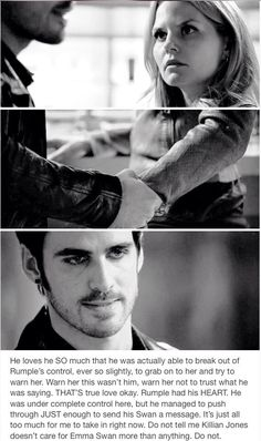 Don't dispute the facts, Killian loves Emma so much