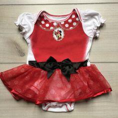 Minnie Mouse Onesie, Onesie Dress, Disney Brands, Tutu, Needlework, Onesies, Rompers, 3 Months, Kids