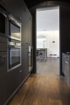 warme vloer - Modern kitchen