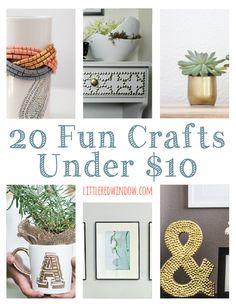 20 Fun Crafts Under