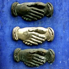 Old Tin Milagros — hands