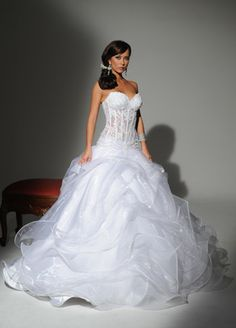 1000 Images About Wedding Dresses On Pinterest See Through Corset Wedding