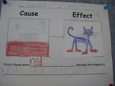 Pete the Cat Cause & Effect