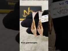 rose gold bangles - YouTube Gold Bangles, Rose Gold, Fancy, Youtube, Youtubers, Youtube Movies