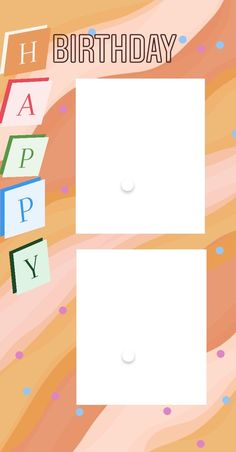Birthday Letters, Birthday Frames, Birthday Posts, Birthday Ideas, Birthday Post Instagram, Happy Birthday Template, Instagram Frame Template, Friend Birthday Quotes, Happiness Challenge