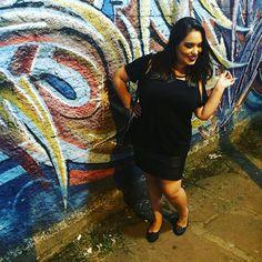 All black para uma noite de rock'n'roll! 🤘🏻🎶 #ootd #look #lookdodia #moda #fashion #lookdadaphne #rock #rocknroll #divinacomedia #rockdecalcinha #poa #portoalegre #black #cidadebaixa #cb #style #lifeasdaphne