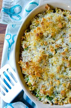 Chicken (or Turkey) Tetrazzini -- Must Remember for Thanksgiving Leftovers