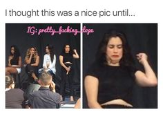 can someone please tell me what the heck Lauren is doing IG: pretty_fucking_dope