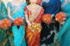 Saris, Cavallo Point Wedding
