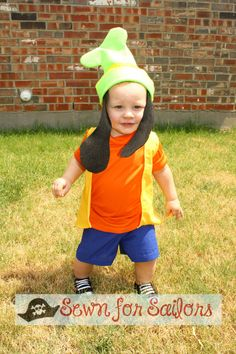 Disney Goofy Inspired shirt shorts set / Clothes/ Costume / dress up / outfit for boys 1234 on Etsy, $48.00