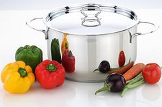 Cookware, Stainless Steel, Cooking, Products, Diy Kitchen Appliances, Kitchen, Kitchen Gadgets, Brewing, Cuisine