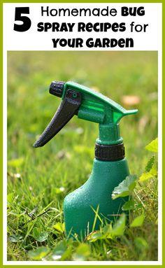 5 DIY Bug Sprays For
