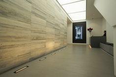 Stone Cladding, Concrete, Stainless Steel, Stone Veneer