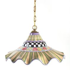 MacKenzie-Childs - Odd Fellows Pendant Lamp - Large