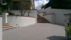 Driveway, Wales, RonaDeck Resin Bound Surfacing laid by PJJ Contractors in association with Thortech