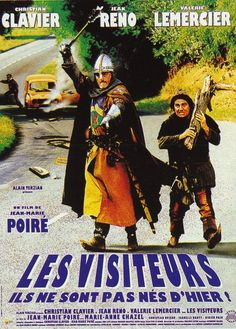 Christian Clavier back in the Visitors! And we will peel the rush like the bailiff of Limousin! That we split up one - Films Cinema, Cinema Theatre, Cinema Posters, Film Posters, Film Movie, Film D, Grand Film, Film Mythique, Bon Film