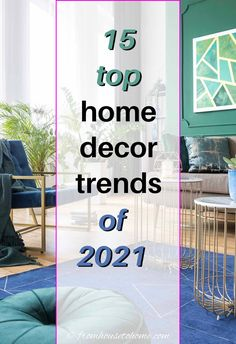 GREAT list of the most popular home decor trends for 2021. This will definitely provide inspiration for getting your interiors updated with the latest styles. #fromhousetohome #2021 #homedecor #trends #homedecortrends Interior Decorating Tips, Interior Design Tips, Interior Designing, Decorating Ideas, Decor Ideas, Home Decor Trends, Home Decor Inspiration, High Point Furniture, Trending Paint Colors