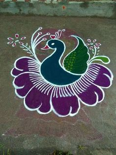 51 Diwali Rangoli Designs Simple and Beautiful Easy Rangoli Designs Diwali, Indian Rangoli Designs, Simple Rangoli Designs Images, Rangoli Designs Latest, Rangoli Designs Flower, Rangoli Border Designs, Small Rangoli Design, Rangoli Patterns, Rangoli Ideas
