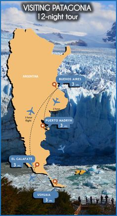 A great tour to enjoy the best of Argentina In Patagonia, Ushuaia, Wonderful Places, South America, Chile, Tours, Night, World, Travel