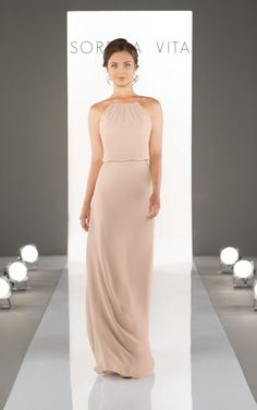 8872 Chiffon Bridesmaid Dresses by Sorella Vita
