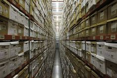 Thousands of boxes of state records are stacked high at the 47,000-square-foot State Records Center in Olympia. The building houses active r...