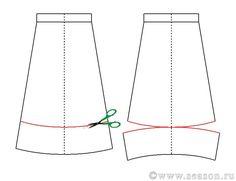 Клуб любителей шитья Сезон - сайт, где Вы можете узнать все о шитье - Юбка буль из твида